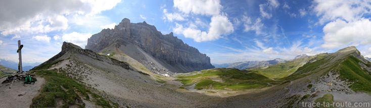 Randonnée au COL d'ANTERNE au-dessus de Sixt-Fer-à-Cheval en Haute-Savoie #SavoieMontBlanc