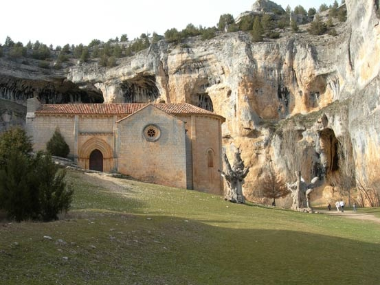 Templars in Soria (Spain) - Ermita de San Bartolomé, Cañon del Rio Lobos