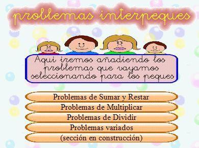 http://lacasetaeliastormo.blogspot.com.es/2013/09/problemes-matematics.html  La CASETA, un lloc especial: Problemes matemàtics