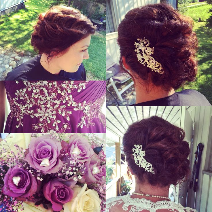 #wedding #bride #updo #curls #hair
