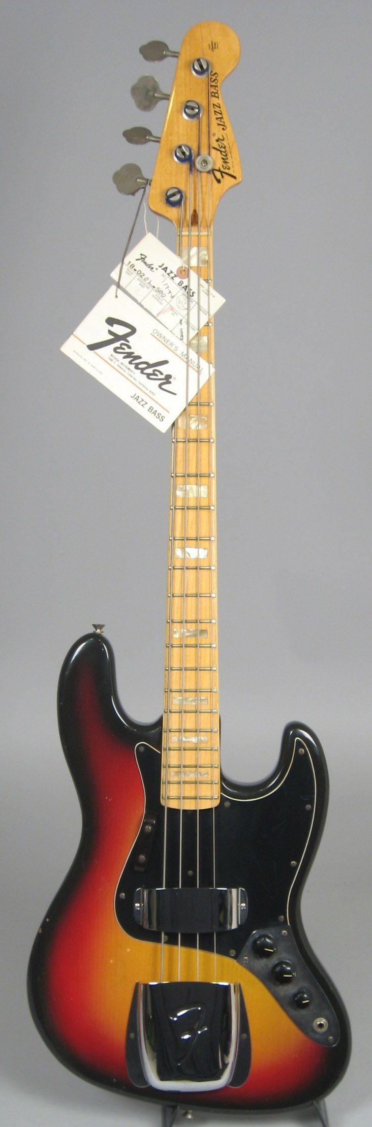 1974 fender jazz bass