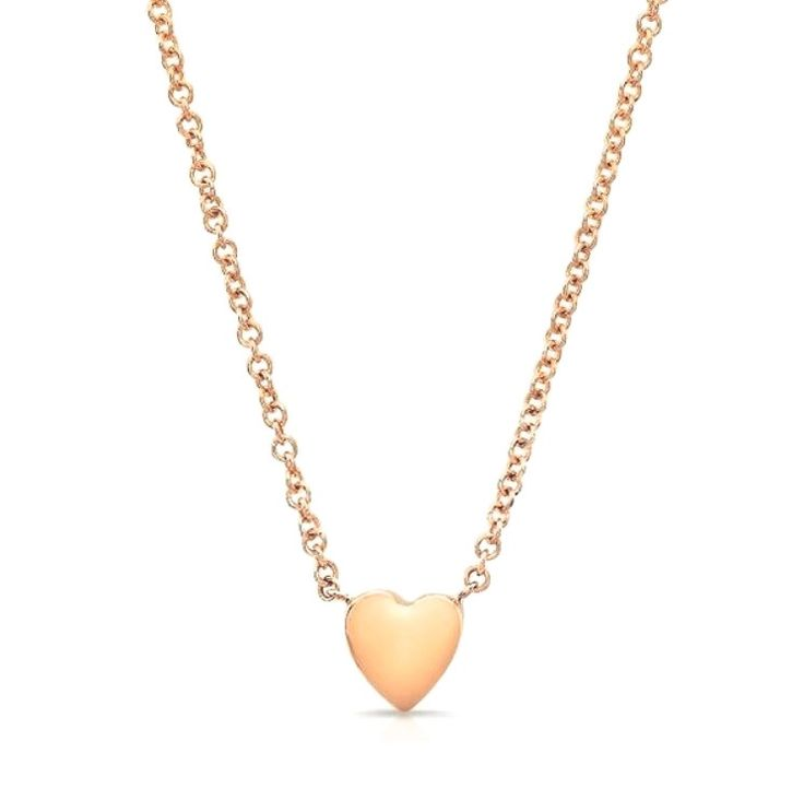 The 25 best italian gold chain ideas on pinterest discount heart necklaces in solid 14k rose gold italian gold chains mozeypictures Gallery