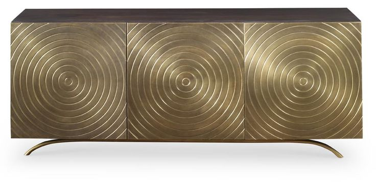 Claudio Cabinet only avail in aged brass. but kind of cool 64.5 wide