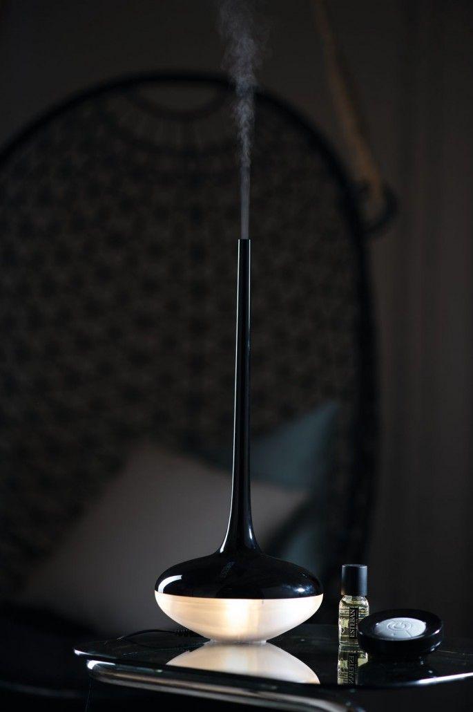 Esteban Paris home perfumes. Perfume mist diffuser Art edition -  black color.
