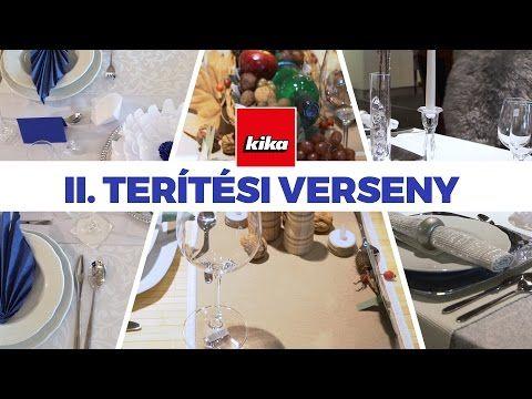 (1) II. Terítési verseny a kikában - Kika Magyarország - YouTube