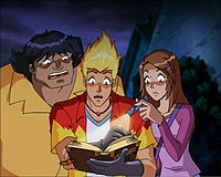 Martin Mystery oh my gosh I have been thinking of it and I didn't know the name! Love this. :)