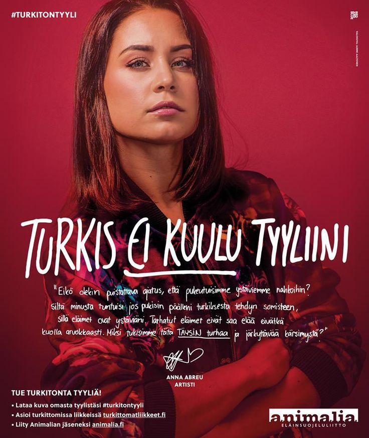 #turkitontyyli Anna Abreu