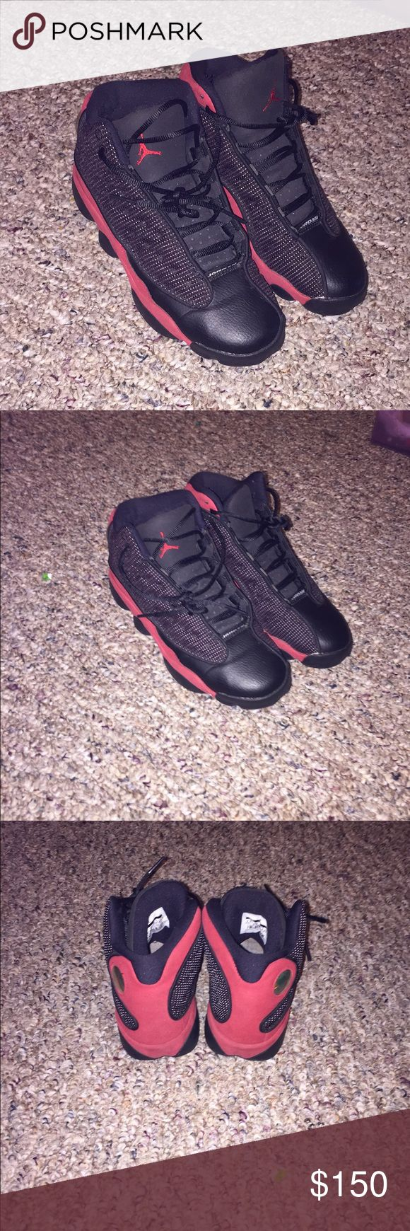 Jordan Bred 13s Size 4.5 !!  Good condition!  Contact for more info !! Air Jordan Shoes Sneakers
