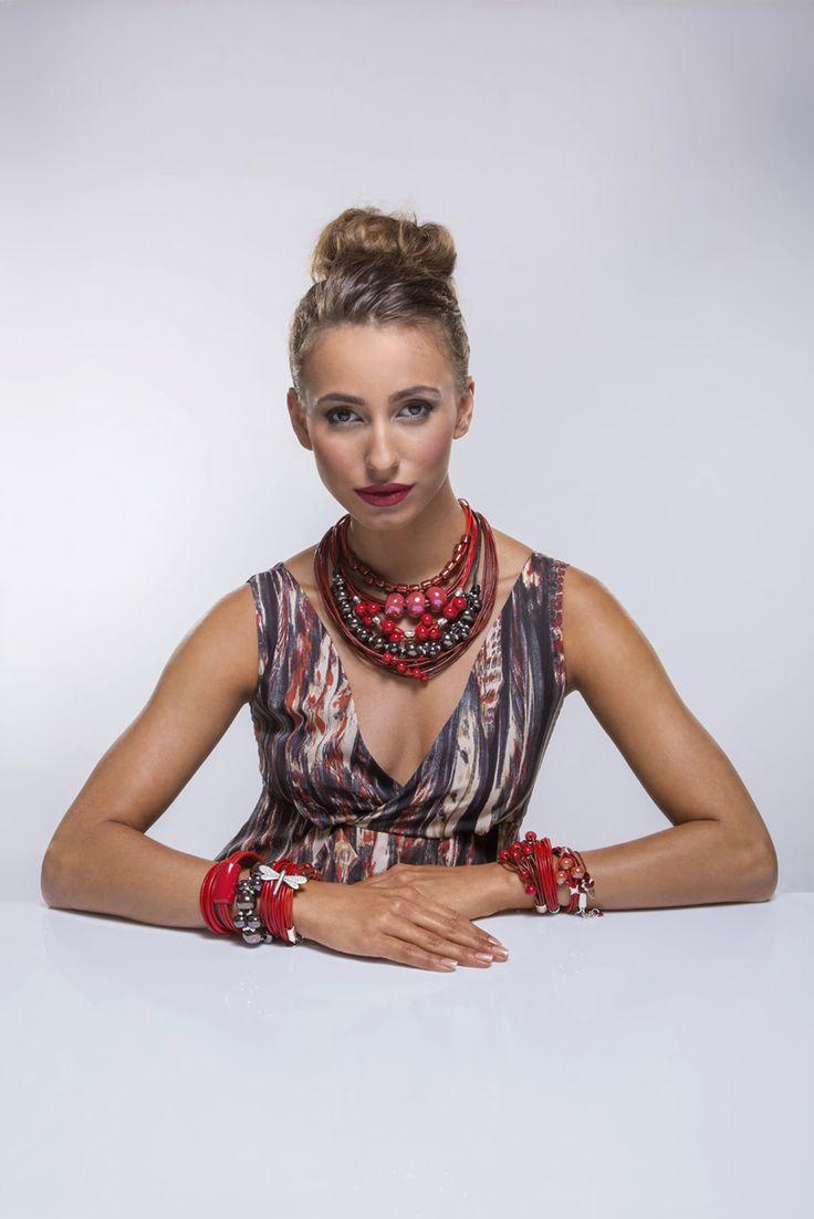 Kolekcja Fall/Winter 2014/2015 #bydziubeka #winter #jewelry #collection #autumn #session #model