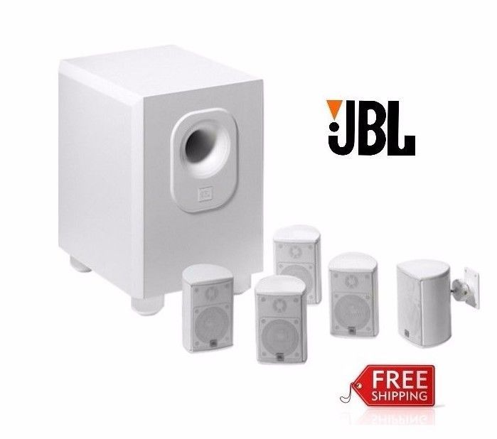 JBL 5.1 Channel Home Theater System Speaker Wall Bracket Cinema Experience Sound #JBL