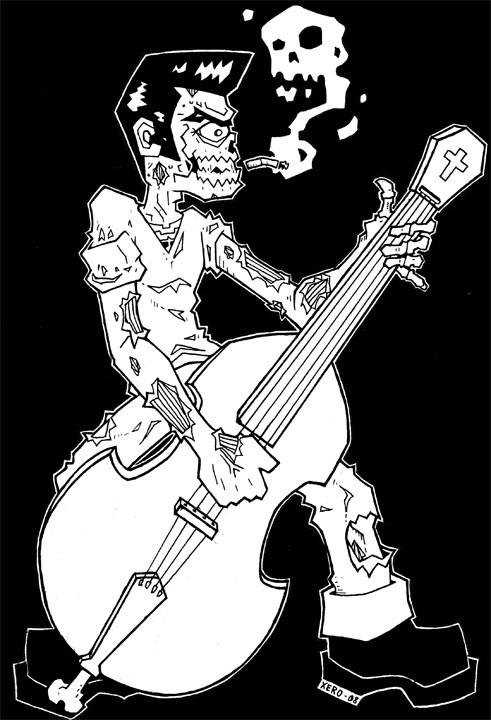 how to play rockabilly rebel on guitar