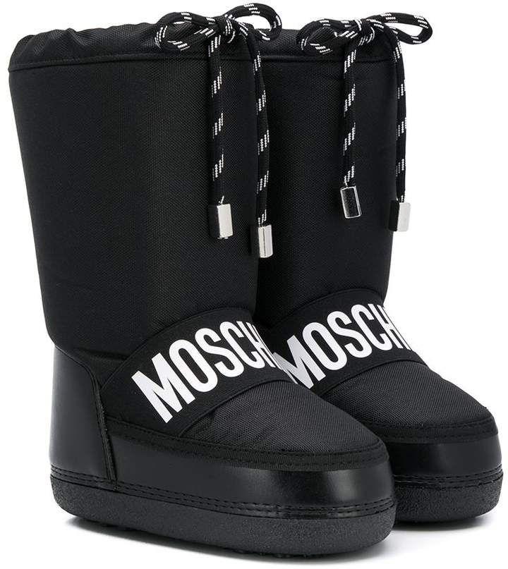 Moschino Kids Chunky Moon Boots