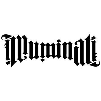 illuminati ambigram by John Langdon