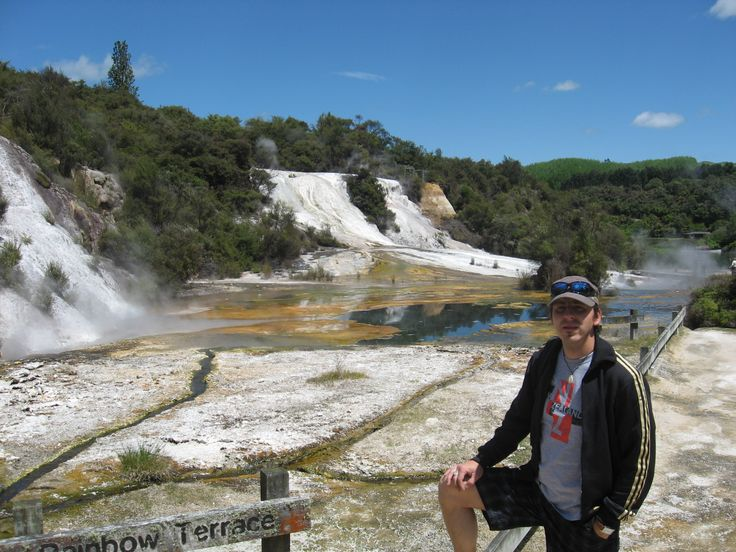 Orakei Korako Geothermal Park - it smells really bad over there...SULFUR