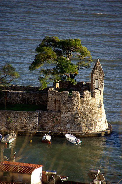 Port Castle of Nafpaktos (Etoloakarnania), Central Greece // by ifanik