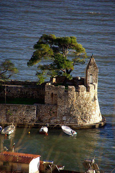 Port Castle of Nafpaktos (Etoloakarnania), Central Greece // by ifanik