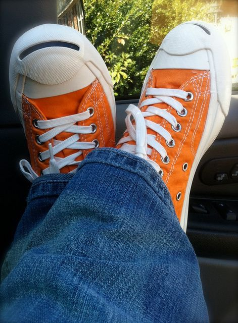 orange jack  purcells by missleslielew ~ is so behind...trying to catch up!, via Flickr