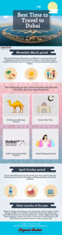 If you want to get the most out of your visit to Dubai, you will need to travel at a specific time of the year. This article will focus on the best time you can visit Dubai based on weather, the cultural events, and other activities that can enable you to enjoy a Vacation in Dubai.