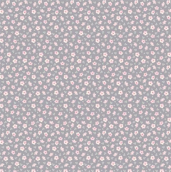 Tilda Corner Shop Fabric - Martine Bluegrey