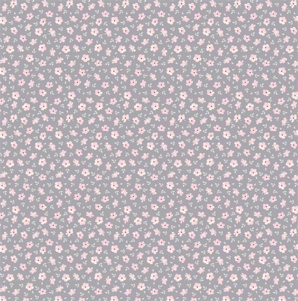 Tilda Corner Shop Fabric - Martine Bluegrey