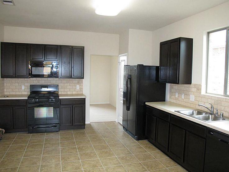 Gray Kitchen Cabinets With Black Appliances 43 best kitchen images on pinterest | kitchen ideas, backsplash