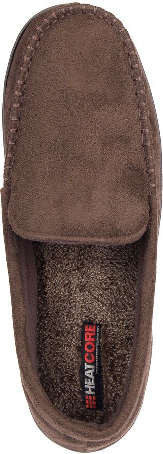 HEAT CORE HeatCore Moccasin Slippers