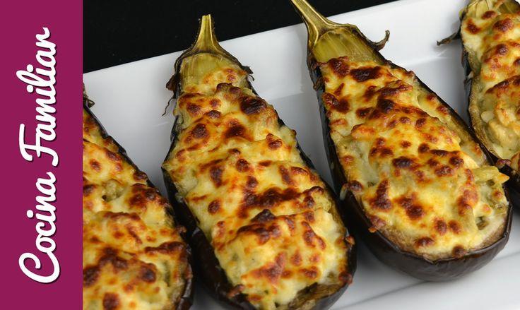 Berenjenas rellenas, receta casera | Javier Romero