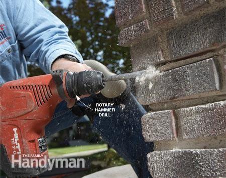 DIY Repair To Mortar Joints