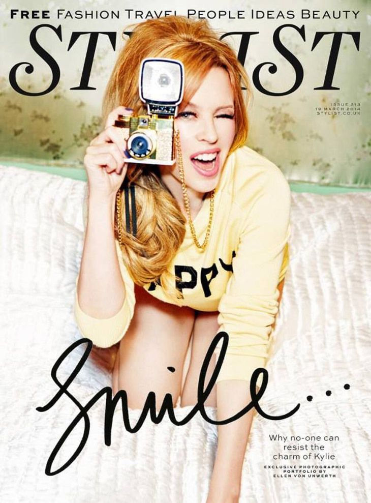 Kylie Minogue for Stylist by Ellen Von Unwerth