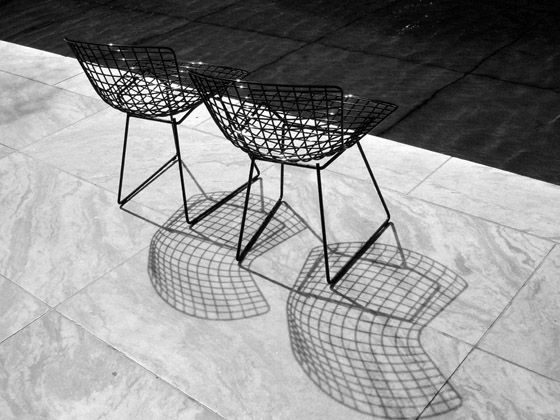SIDE CHAIR // HARRY BERTOIA