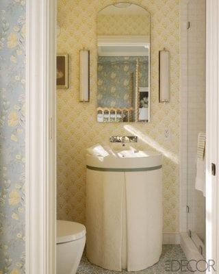 retro bathroom wallpaper 2017  Grasscloth Wallpaper
