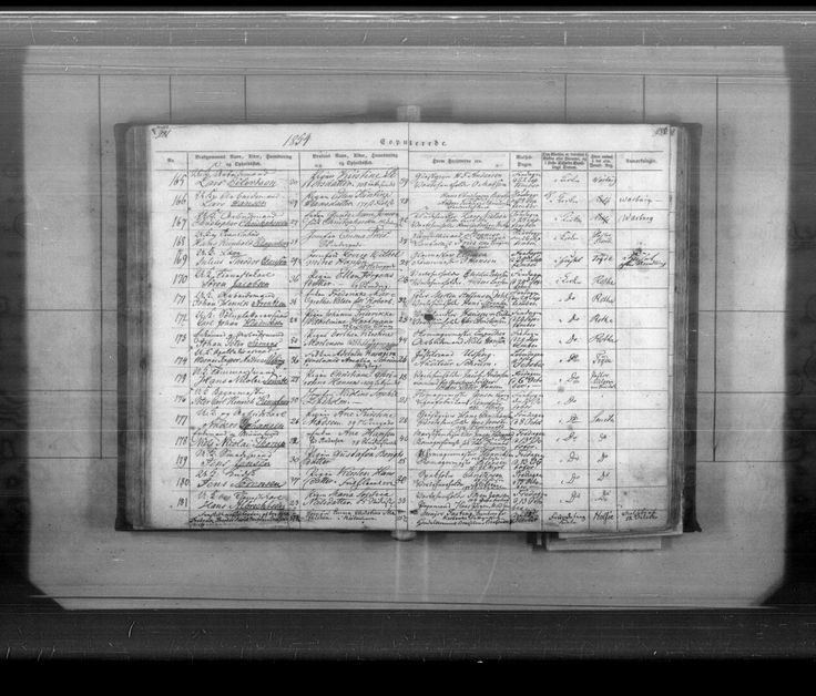 Johan Henrik Arentzen Vielse med Frederikke - Danmarks kirkebøger, 1813-1919 - MyHeritage