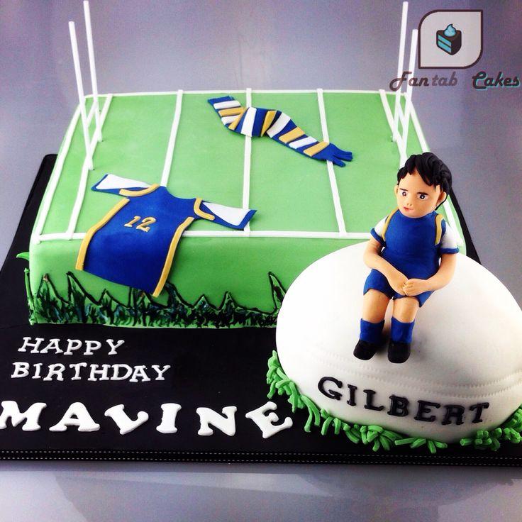 Cake Decorating Ideas Rugby : 17 migliori idee su Torta Rugby su Pinterest Compleanno ...