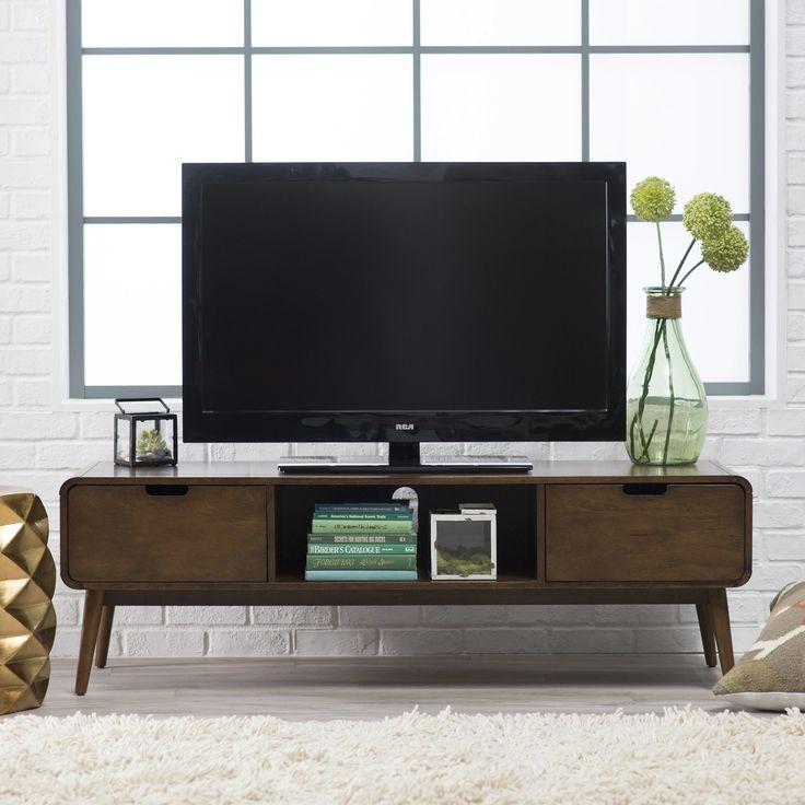 belham living carter mid century modern tv stand tv stands at hayneedle