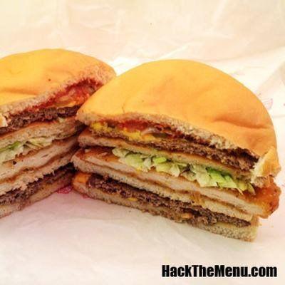 McDonalds Burger King e Subway tem sanduíches secretos
