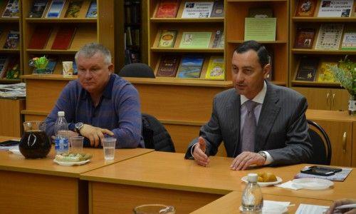 Виктор Тепляков встретился  с активистами микрорайонов «Новый Сочи» и «Донская» города Сочи