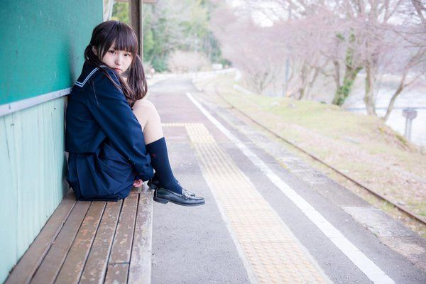 """""""廃線ポトレ あんにゅい豆腐(@p_cos4 )"""""""