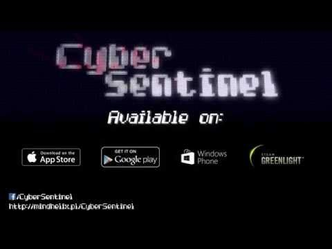 In CyberSentinel you take the role of a hacker, who writes programs to steal data from secure systems in a kind of '80s/'90s stylized version of cyberspace. You don't need to know any programming language, because programs are created using a variation of Alan Turing's state machine diagrams via a touch-based 3D interface. Its implementation is easy to use, yet complicated enough to teach programming basics.