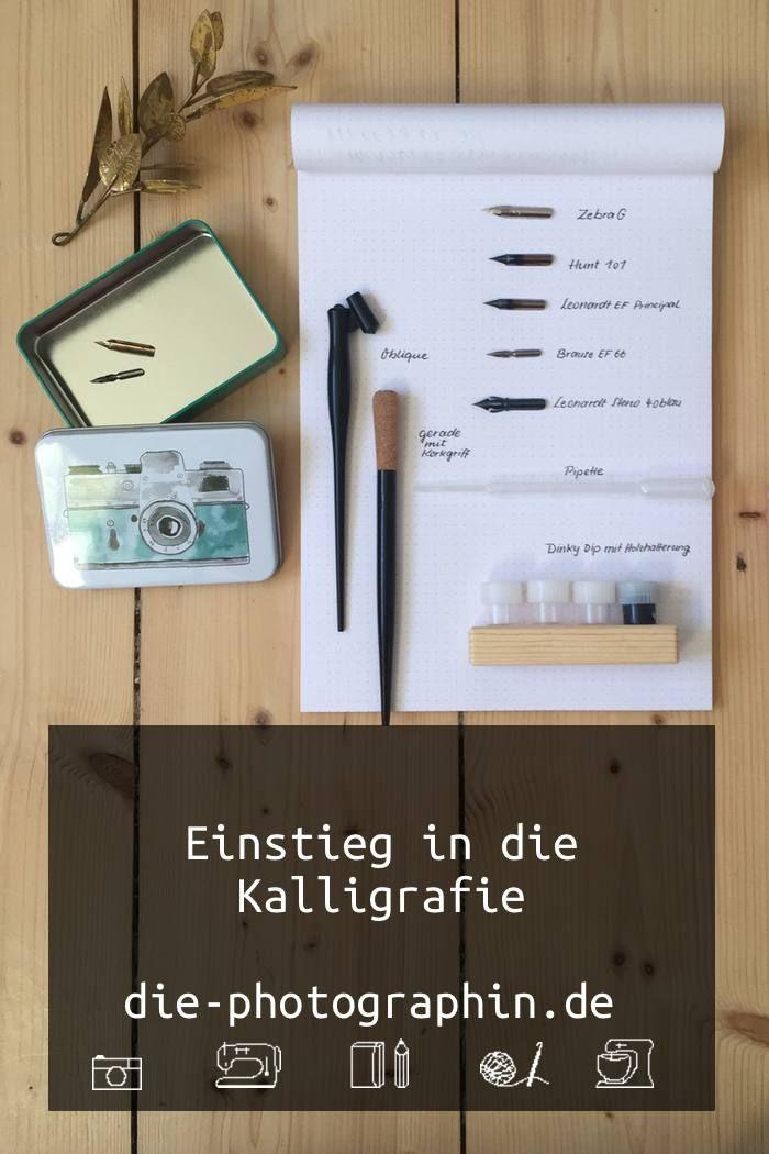 Kalligrafie 101 – Einstieg ins Schreiben mit Tusche und Feder
