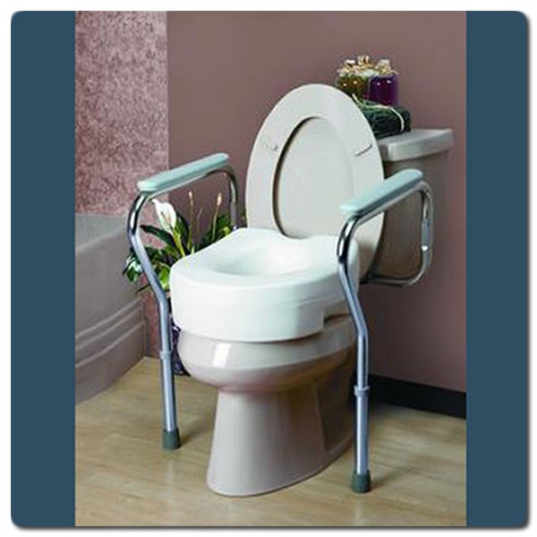 222 best handicap accessible bathroom images on pinterest - Handicap bars for bathroom toilet ...