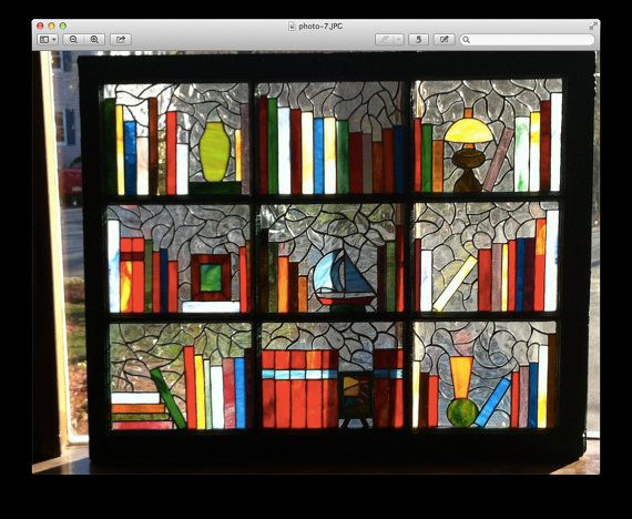 Multi-panel Stained Glass window. by RoyalPaneInTheGlass on Etsy