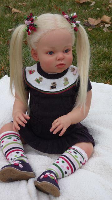Angelbabymaker Reborn Arianna Toddler Doll Reva Schick Sooo Gorgeous   eBay