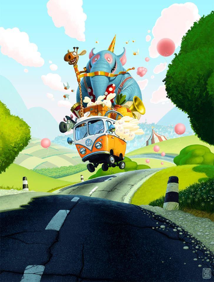 Denis Zilber Art ★ Find more at http://www.pinterest.com/competing/