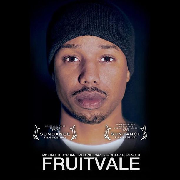 """Fruitvale Station"", starring Michael B. Jordan, Melonie Diaz, and Octavia Spencer. 4"