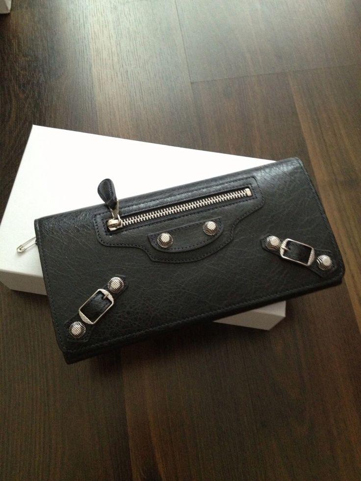 Balenciaga black wallet