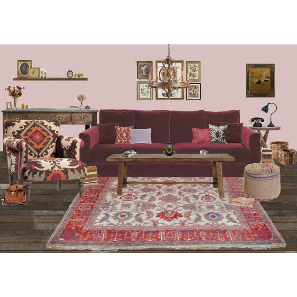 living by chrylou on Polyvore featuring interior, interiors, interior design, home, home decor, interior decorating, Laura Ashley, GO Home Ltd., Safavieh and Nordal