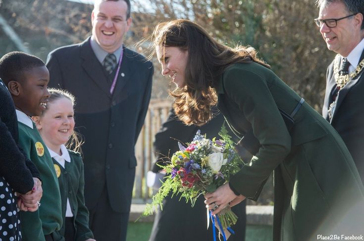 The Duchess of Cambridge in Scotland at St. Catherine's School in her role as patron of Place2Be, February 24, 2016
