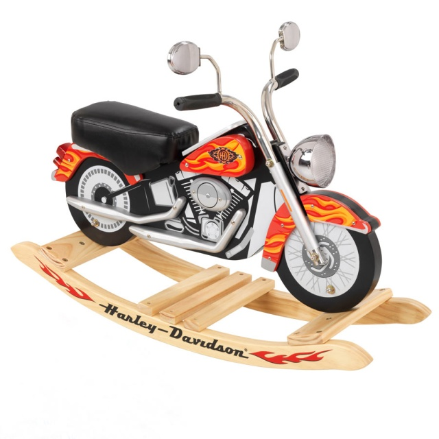 Superb Harley Davidson Roaring Rocker By KidKraft Fun And Fantasy Come Together  With Our New Harley Davidson Roaring Softail Rocker!