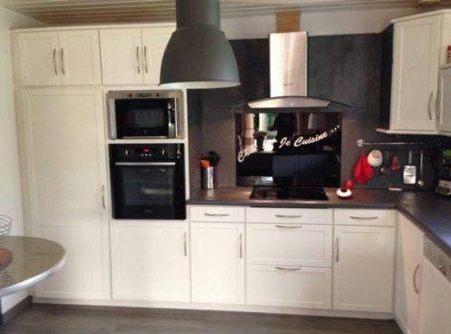 Relooking cuisine avant après avec nos peinture passion déco. Éclaircissement et rénovation réussi par notre coach déco Eve de L'Oise.