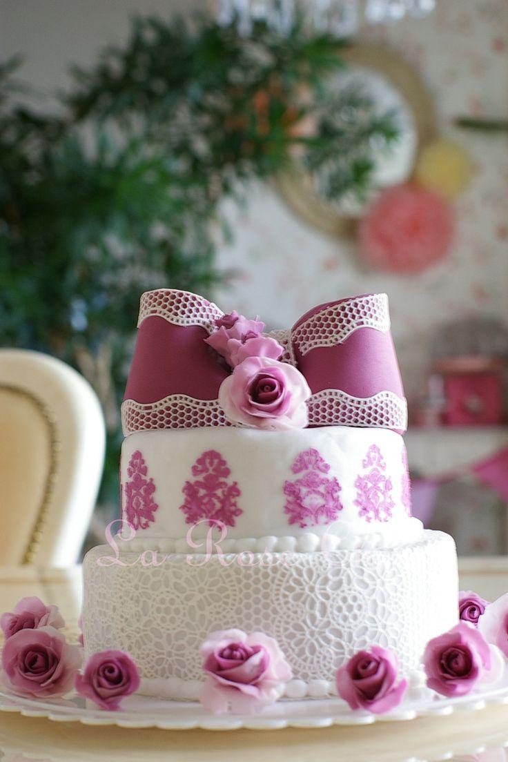 ウェディングシュガーケーキ